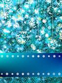 エレガントなクリスマス雪の。eps 8 — ストックベクタ