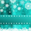 Christmas with snowflake - Image vectorielle