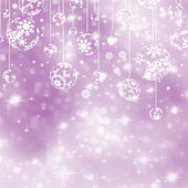 Elegant purple christmas background. EPS 8 — Stock Vector