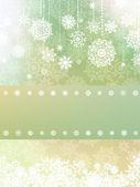 Elegant background with snowflakes. EPS 8 — Stock Vector