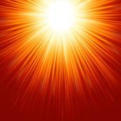 Abstract radiant star. EPS 8 — Stock vektor