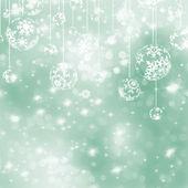 Elegant green christmas background. EPS 8 — Stock Vector