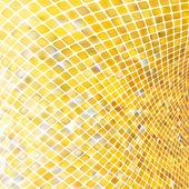 Golden business mosaic. EPS 8 — Stock Vector