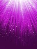紫色条纹背景上的明星。8 eps — 图库矢量图片