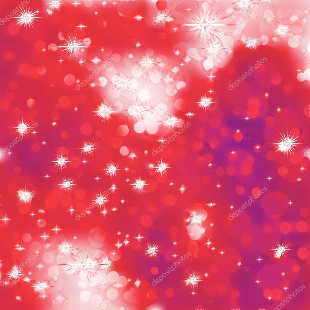 Elegant christmas background with bokehs and stars. And also includes EPS 8 vector — Stock Vector #14039243