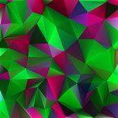 Streszczenie kolorze zielonym i różowym. eps 8 — Wektor stockowy