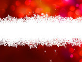 Red Christmas background with copyspace. EPS 8 — Stock Vector