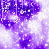 Elegant blue christmas background. EPS 8 — Stock Vector