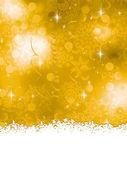 Orange Christmas Background. EPS 8 — Stock Vector