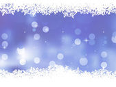Blue background with snowflakes. EPS 8 — Stock Vector