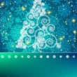 Elegant christmas background. EPS 8 — Imagen vectorial