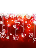Christmas background with copyspace. EPS 8 — Stock Vector
