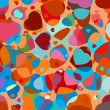 Royalty-Free Stock Imagen vectorial: Abstract background to the Valentine's day. EPS 8