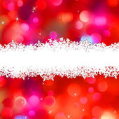 Elegant pink Christmas light bokeh. EPS 8 — Stock Vector