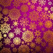 Christmas pattern snowflake. EPS 8 — Stock Vector