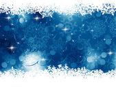 Blue Christmas Background. EPS 8 — Stock Vector