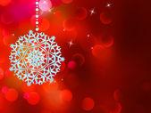 Décoration d'arbre de Noël s'allume. EPS 8 — Vecteur