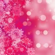 Pink background with snowflakes. EPS 8 — Stock Vector #17454471
