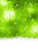 Green Christmas Background. EPS 8 — Vector de stock