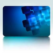 Beautiful gift card. EPS 8 — Stockvektor