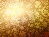 Fondo de Navidad con copos de nieve. Eps 8 — Vector de stock