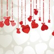 Valentines Day Background. EPS 8 — Stockvector #18354659