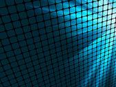 Rayons bleus clair mosaïque 3d. eps 8 — Vecteur
