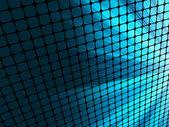 蓝色射线光 3d 马赛克。8 eps — 图库矢量图片