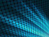 Niebieskie promienie światła 3d mozaiki. eps 8 — Wektor stockowy