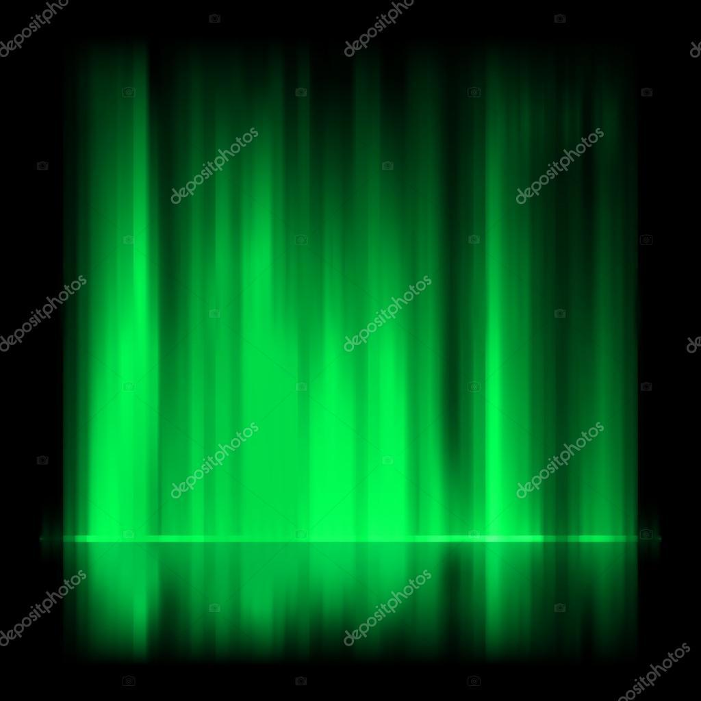 Sfondo verde aurora boreale eps 8 vettoriali stock for Aurora boreale sfondo