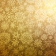 Elegant Christmas background with snowflakes. - 图库矢量图片