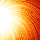 星爆红色和黄色的火。8 eps — 图库矢量图片