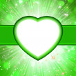 Valentine green St.Valentine&#039;s Day. EPS 10 - 