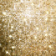 Golden abstract mosaic background. EPS 8 — Imagens vectoriais em stock