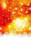 Abstract christmas with snowflake. EPS 10 — Stock Vector