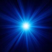 バーストで青い色のデザイン。eps 10 — ストックベクタ