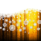 Christmas background with snowflakes. EPS10 — Stock Vector