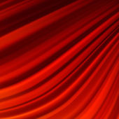 Red smooth twist light lines. EPS 10 — Stockvector