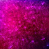 Pink glitters on a soft blurred background. EPS 10 — Vector de stock