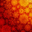 Red orange christmas texture pattern. EPS 8 — Stock Vector