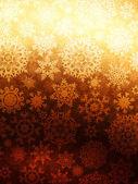 Fondo de navidad con copos de nieve. eps 10 — Vector de stock
