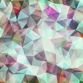Padrão de forma abstrata desenho geométrico. eps 10 — Vetorial Stock