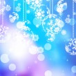 Elegant blue christmas background. EPS 10 — 图库矢量图片