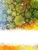 Elegant background with snowflakes. EPS 10 — Stock Vector