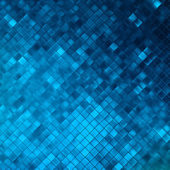 Blue glitters on a soft blurred background. EPS 10 — Stok Vektör