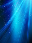 Stars on blue striped background. EPS 10 — Stockvector