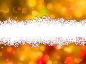 Tasarlamak turuncu christmas arka plan. eps 10 — Stok Vektör