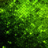 Green glitters on a soft blurred. EPS 10 — Stockvector
