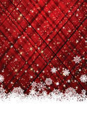 Red christmas background. EPS 8 — Stock Vector