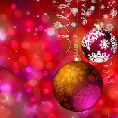 Buon Natale cartolina — Vettoriale Stock